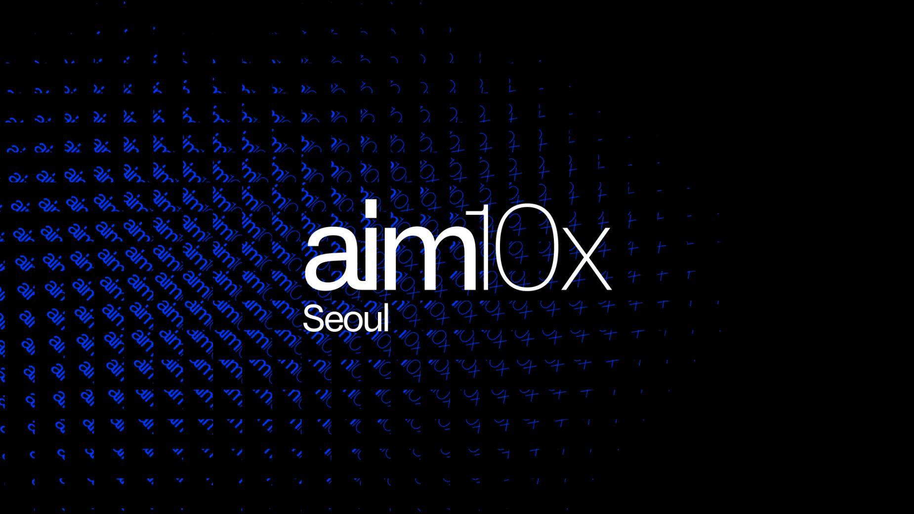 aim10x event in Seoul, Korea